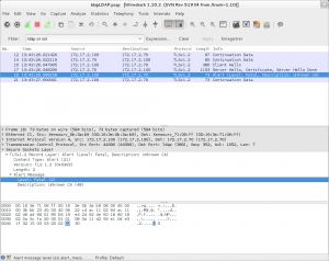 TLS wireshark